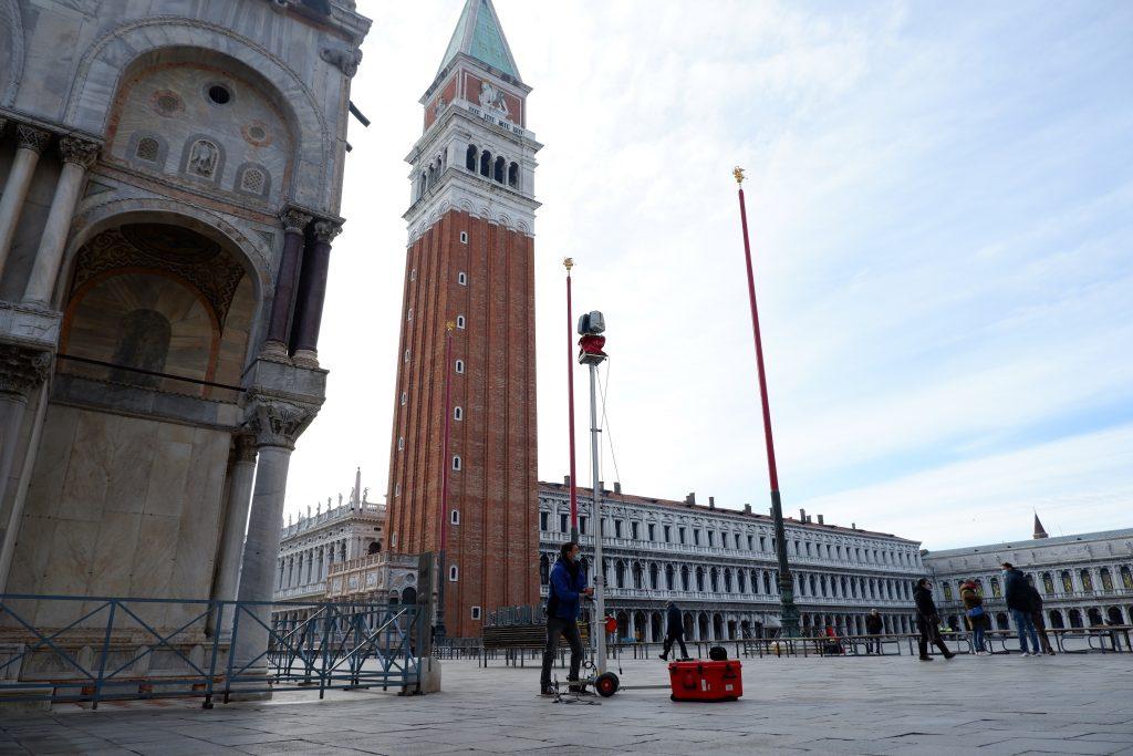 Vigea rilievo Piazza San Marco VE