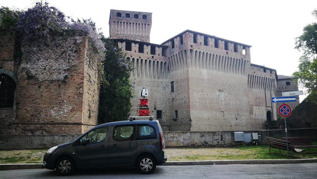 Rilievo laserscanning Montechiarugolo
